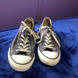 💜 CONVERSE all star low top purple sneakers
